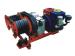 3 ton double bull wheel HONDA Gasoline engine winch