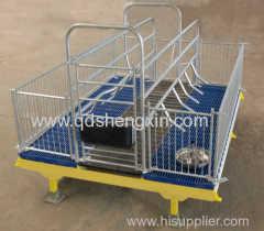 Pig Farm Swine Farrowing Crate