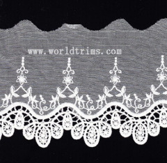 embroidery lace trimming lace trim