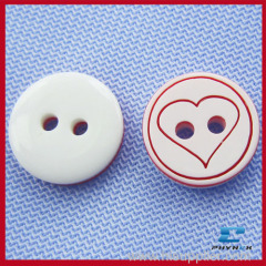 polyester kids button for clothing