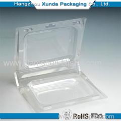 clamshell plastic blister pack
