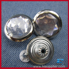 wholesale crystal jean buttons