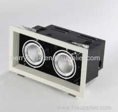 2x7W Dual Head Grid Light