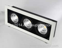 Three heads 54W LED Grid Light