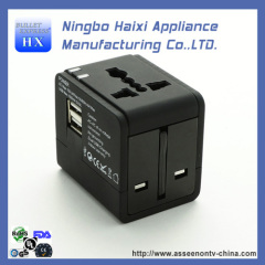 china colorful travel adapter