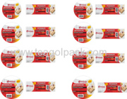 OPP Packing Tape-Round Labels & Square Stickers