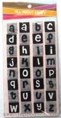 little alphabet fabric craft