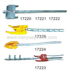Two Bundled Conductor Stringing Head Boards Overhead Lines Conductor Stringing Running Boards