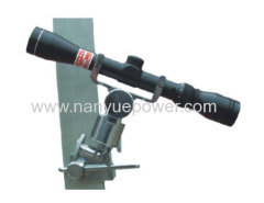 Zoom Sag Scope Telescope for power transmission lines construction