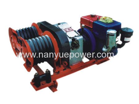 Gasoline Engine Powered Pulling Winch