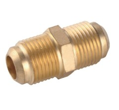 Forged Copper Double Male Threaded Fitting