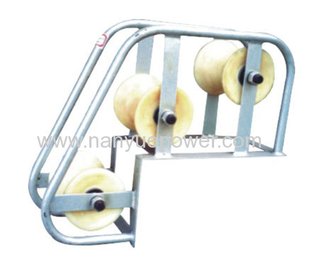 Cable Ground Roller Pulley Block