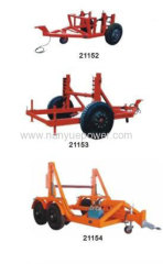 Cable Reel Winder Rope Reel Drum Trailer Machine for Underground Cable Laying Installation