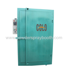 powder coating oven for curing
