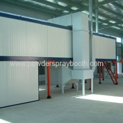 gas heating oven for powder coating line