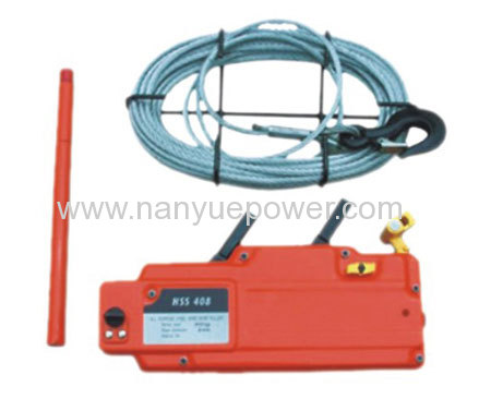 HSS Wire Rope Tackle Block cable pulling tifor winch manufacturers ...