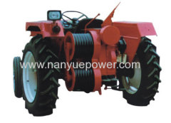 Conductor tractor winch flexible cable puller steel wire rope pulling tractor machine sagging tractor to pull conductor