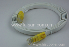 UTP Cat5e Flat Patch Cord with RJ45 connectors