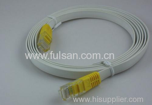 UTP Cat5e Flat Patch Cord with RJ45 connectors