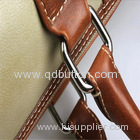 Top quality matt gold metal O ring buckle for handbags