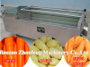 Brush potato peeling machine