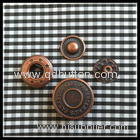 15mm decorative with high quality press snap button for coat