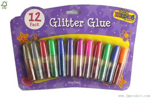 12P non toxic glitter glue