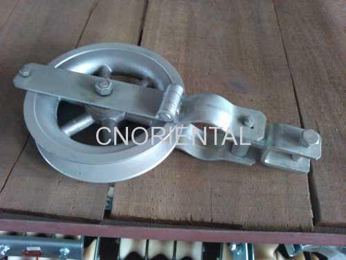 aluminum pulley stringing pulley block