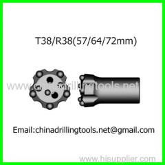rock thread button drill bits