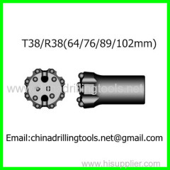 rock thread button bit