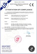 Hydraulic conductor tensioner CE certificate