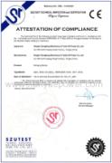 Strginging Blocks CE certificate