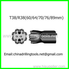 thread rock drill bit