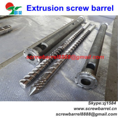 barrel with barrier screw