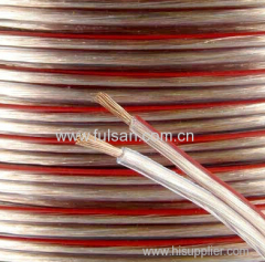 12AWG Transparent High End Speaker Cable