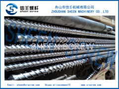 105/55 EPE foaming extruder single screw and barrel