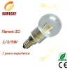 Hawksky fashion design plastic led bulb lights factory
