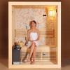 Luxuy Hemlock Sauna Room