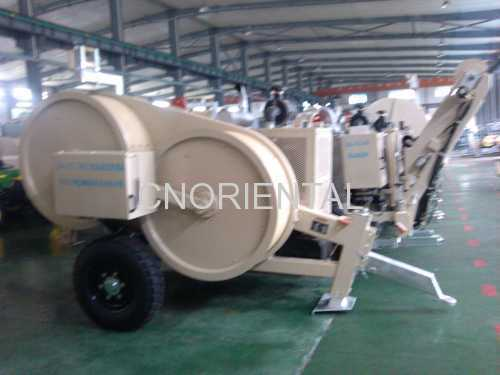 overhead line hydraulic conductor tension stringing puller tensioner