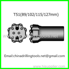 hardness thread Drill Button Bit