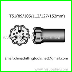T51 thread button bit