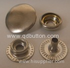 garmment metal accessories silver snap buttons press buttons