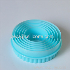 Cutoms Silicone biscuit cutters factory