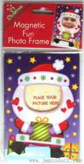 Christmas magnet photo frame for kids