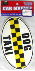 taxi magnet/taxi sign/taxi decal