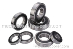 Deep groove rubber seal bearing