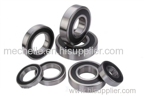 Deep groove rubber seal bearing