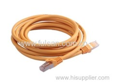 FTP Cat6 Patch cord with RJ45 plug gold plated 3u'' or 50u''