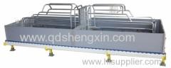 4.8x1.8m Placa del PVC Ganado de la siembra Crate