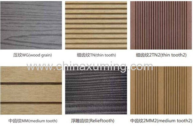 Surface Tratment Of Wood Plastic Outdoor Decking
